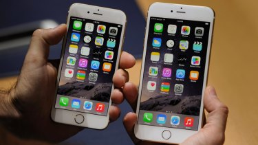 Record sales of the iPhone 6 and iPhone 6 Plus have fuelled Apple's stock price.