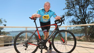 Sunrise presenter Mark Beretta is a MAMIL without regrets.