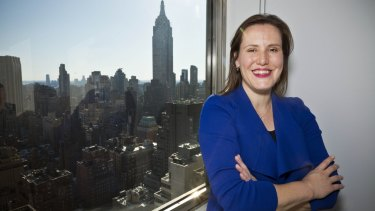 Assistant Treasurer Kelly O'Dwyer pictured in New York earlier this week.
