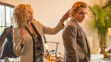 Cameos aplenty from the likes of Sharon Stone, pictured here with Dave Franco.