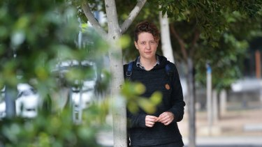 Jessica Zaccaria, a fruit picker from Italy, has experienced low pay in Australia.