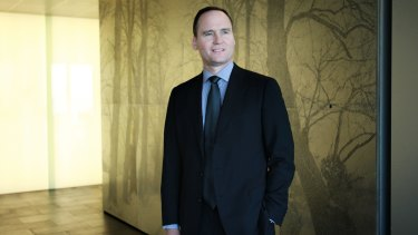 New BHP chairman Ken MacKenzie fronted investors in London on Thursday.
