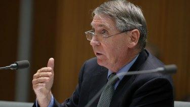 Department of Defence secretary Dennis Richardson appears before Senate estimates last week.