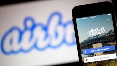 US-based websites like Airbnb and Couchsurfing cause headaches by 'clogging lifts, creating noise and damaging fittings'.