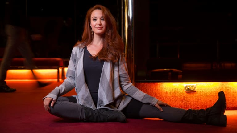 Sierra Boggess has appeared on Broadway and on London's West End and is about to perform her first concert tour in Australia.