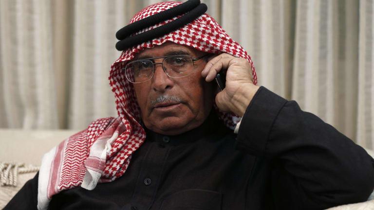 Safi al-Kasasbeh, father of captured pilot Muath al-Kasasbeh.