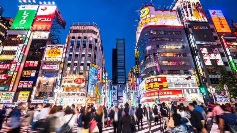 Tokyo experienced rapid rebuilding and growth after World War 2.