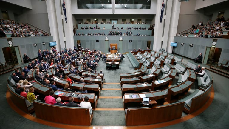 The House of Representatives' near-unanimous vote to legalise same-sex marriage.