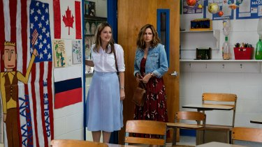 Judy Greer, left, and Jenna Fischer.