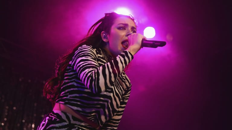 Charli XCX stormed out with guns blazing at the Corner.