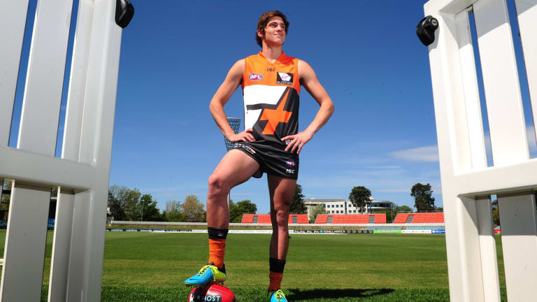 Giants AFL recruit, Canberra's Jack Steele
