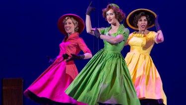 Cinderella story: Madeleine Jones, Ellen Simpson and Natalie Gamsu in <i>Ladies in Black</i>.