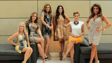 Fun cast: The catfights are unscripted on The Real Housewives of Melbourne, but there is also a lot of laughter that gets cut out.