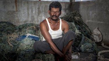Tsunami survivor Andi Yusuf.
