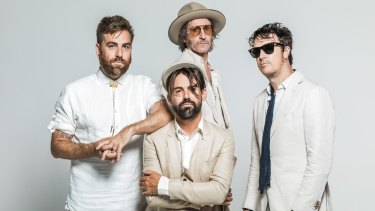 Josh Pyke, Phil Jamieson, Tim Rogers and Chris Cheney (left to right).