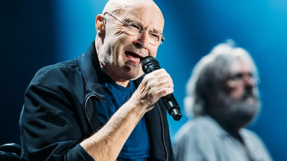 Veteran rocker Phil Collins didn't disappoint.