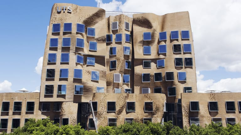 The Chau Chak Wing building at the University of Technology, Sydney.