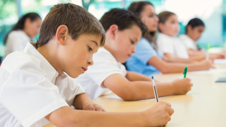 The proportion of students meeting national minimum standards in each domain in this year's NAPLAN tests has flatlined or declined across most year groups since last year.