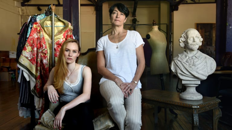 Actor Lizzie Schebesta and director Grace Barnes are battling gender inequality in the theatre with a women-only call to arms.