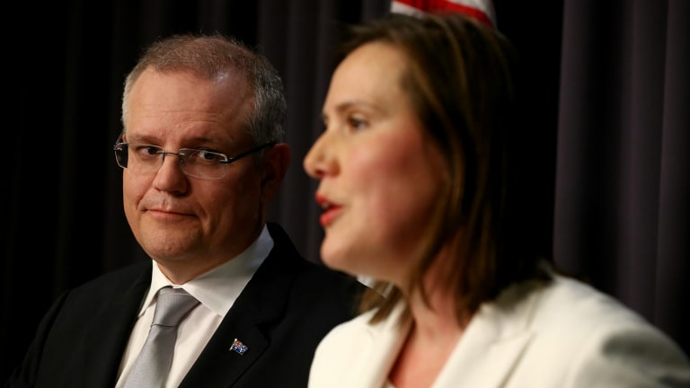 Treasurer Scott Morrison and his ministerial sidekick Kelly O'Dwyer have blunted the opposition's royal commission scythe.