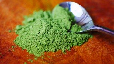 Food of 2015: Matcha green tea powder.