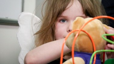 Freyja Christiansen had previously inoperable tumours removed by surgeries including one with robots. She is believed to be the first child in Australia to undergo such a procedure for her particular kind of tumour and its difficult location at the back of her throat.