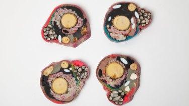Coasters from Chen Chen + Kai Williams.