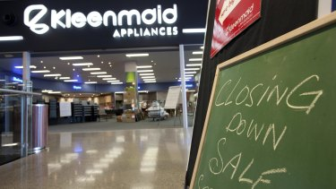 Kleenmaid collapsed in 2009 with debts totalling $100 million, which left a deficit of $83 million for its creditors.