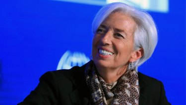 Christine Lagarde said harnessing the power of fintech should be a key priority for China.