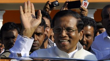Accusations: There are allegations of Indian involvement in the surprise election of Maithripala Sirisena as Sri Lanka's President.