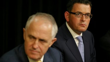 Prime Minister Malcolm Turnbull and Victorian Premier Daniel Andrews don't see eye to eye.