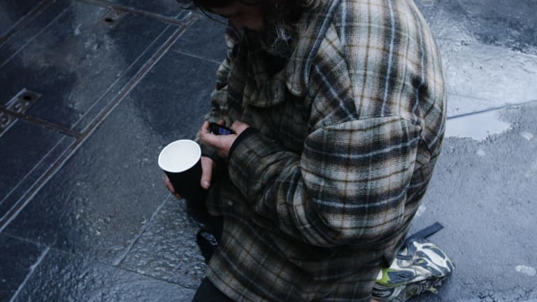 Homeless agencies and shelter providers say they have experienced a huge spike in the demand for beds and crisis accommodation as wild weather continued to rip through the city.