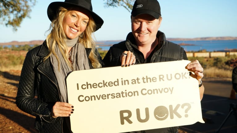 Annalise Braakensiek: On the road with the RUOK? Conversation Convoy.