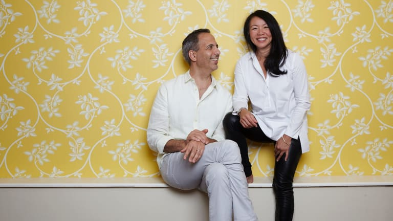 Helen Goh and Yotam Ottolenghi.