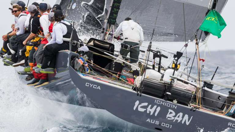 Thirst for first: Ichi Ban has been named as handicap winner of the Sydney to Hobart.
