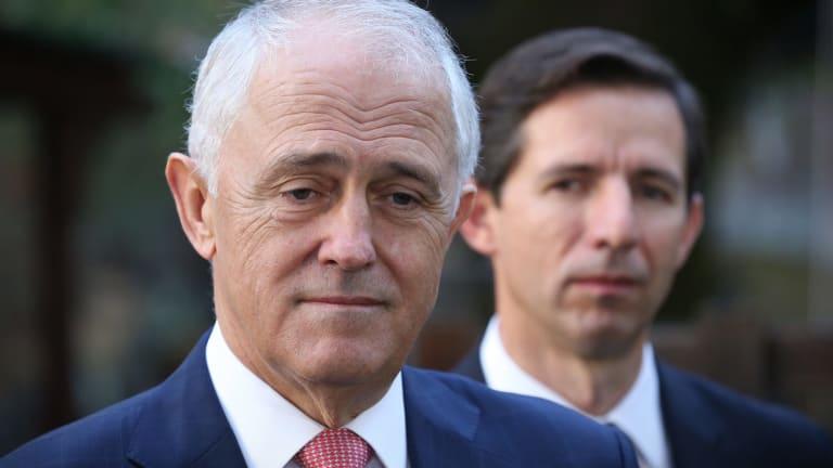 Prime Minister Malcolm Turnbull and Education Minister Simon Birmingham.