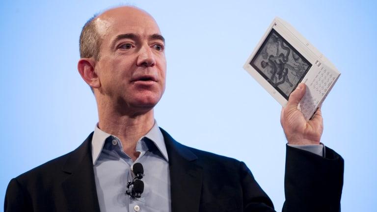 Jeff Bezos, founder and CEO of Amazon.com