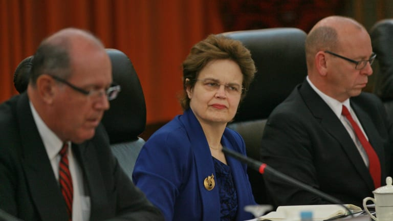 Appointed: The Department of Foreign Affairs and Trade's new secretary, Frances Adamson in 2014.