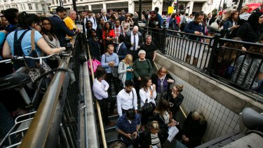 Commuters going between  increasingly busy work and personal lives.