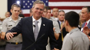 Jeb Bush wants boots on the ground.