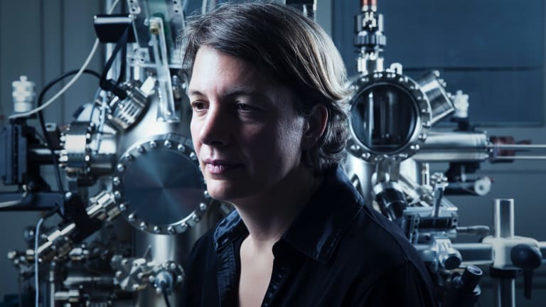 Michelle Simmons, a professor of quantum physics at the University of NSW, was awarded the 2018 NSW Australian of the Year.