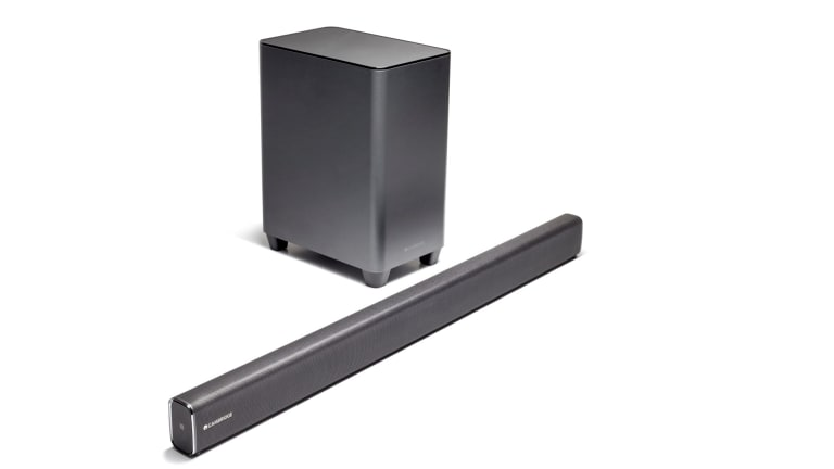 Using The Cambridge Audio TVB2 Soundbar And Subwoofer Combination Is Bit Like Enjoying An Upgrade To