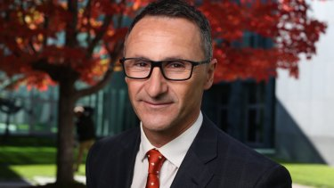 Greens leader Richard Di Natale voted against the fence.