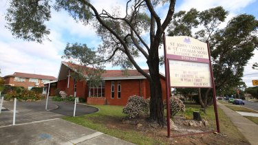 Domino effect: The incident at St John Vianney Catholic Church in Greenacre ended up involving the Catholic Education Office, the NSW Police Force and criminal charges.