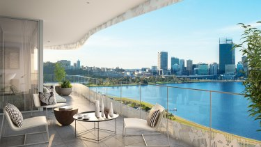 Lumiere was 60 per cent sold within three weeks of its launch, highlighting demand for high-end apartments in Perth.