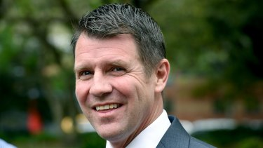 """NSW Premier Mike Baird: """"We are now at a fork in the road""""."""