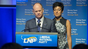 Campbell Newman's political career ended on January 31, 2015.