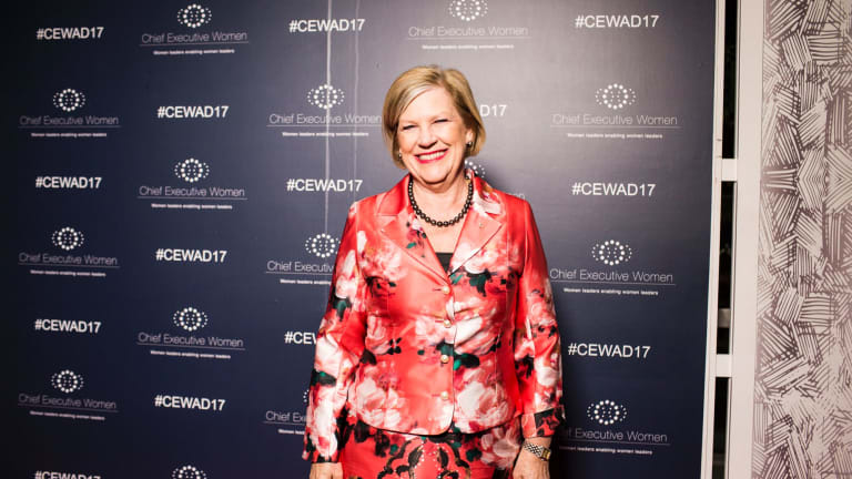 """""""We must rethink the status quo and build inclusive environments where women and girls can thrive in STEM,"""" said MCC STEM's Ann Sherry."""