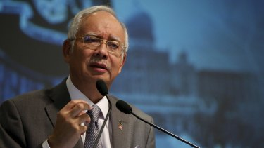Malaysia's Prime Minister Najib Razak has been linked to a corruption scandal.