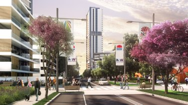 UrbanGrowth had been pushing for the new metro station to be located at Waterloo.